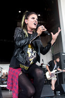 Juliet Simms on Warped Tour 2015