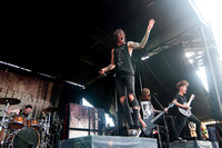 blessthefall on Warped Tour 2015