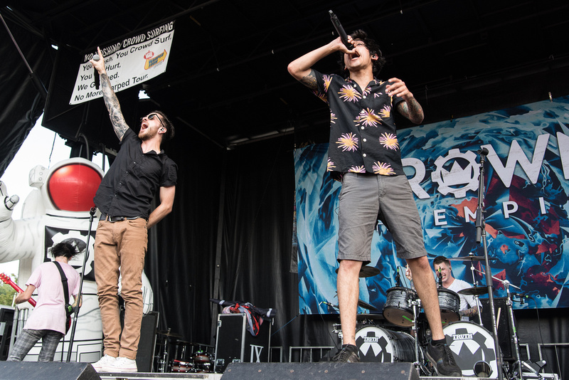 Crown The Empire Warped Tour