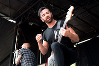 Memphis May Fire on Warped Tour 2015