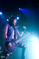 Black Veil Brides live at Best Buy Theater, NYC 11.23.14